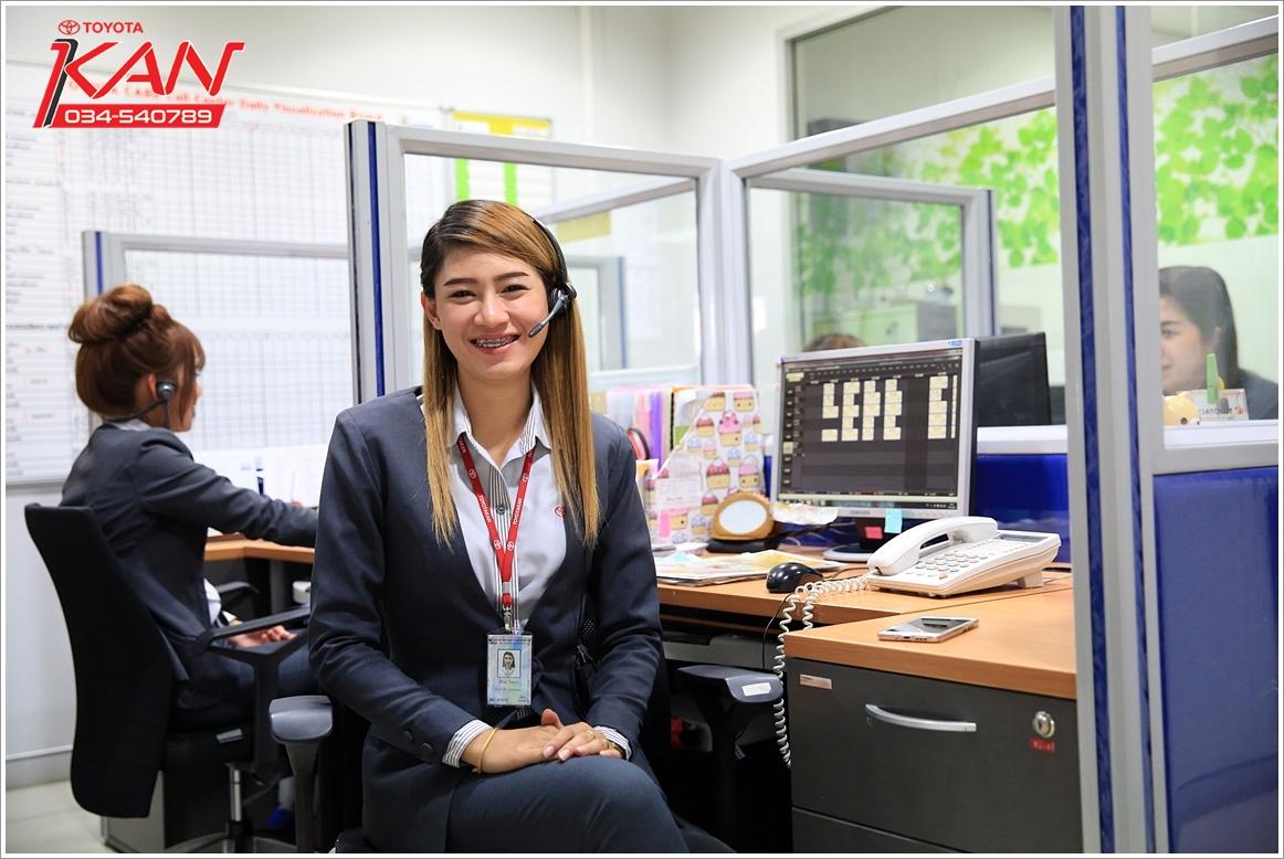 คุณสุทธิพงษ์ กิมหลีเชี้ยง ศูนย์บริการโตโยต้ากาญจนบุรี