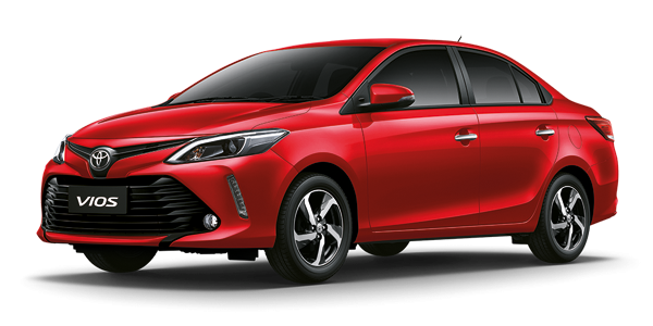red VIOS 2017