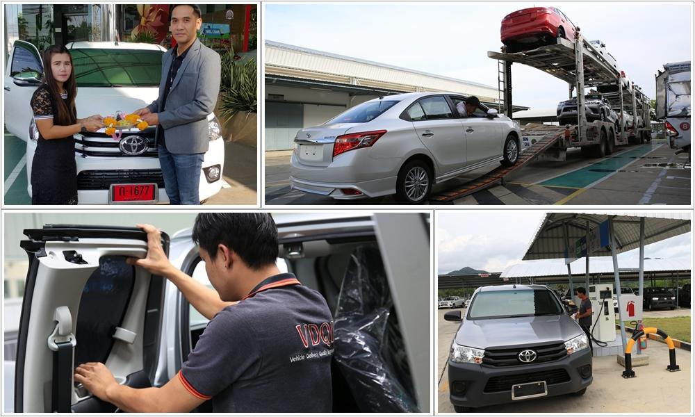 vdqi_toyotakan ระบบการตรวจสอบคุณภาพรถใหม่ (VDQI)