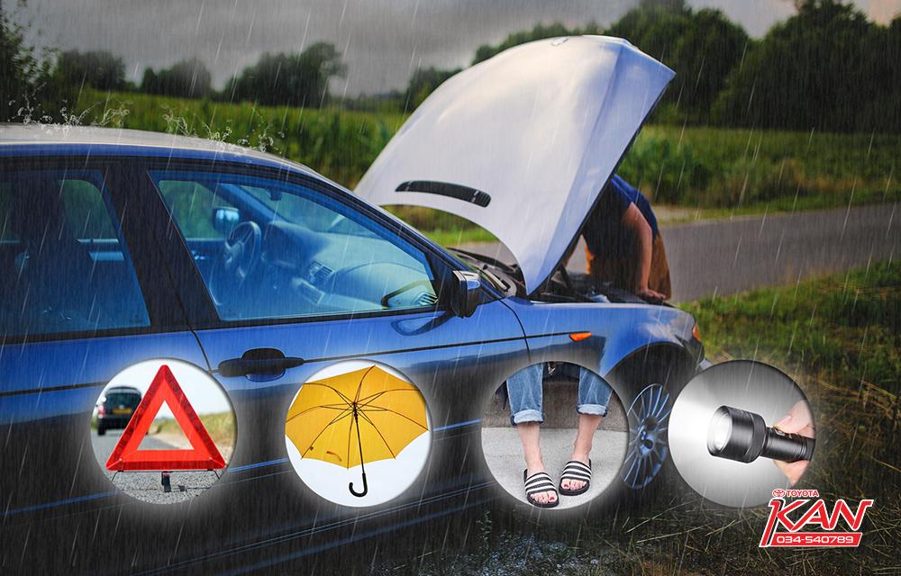 A4 เคล็ดไม่ลับ ขับรถหน้าฝนให้ปลอดภัย