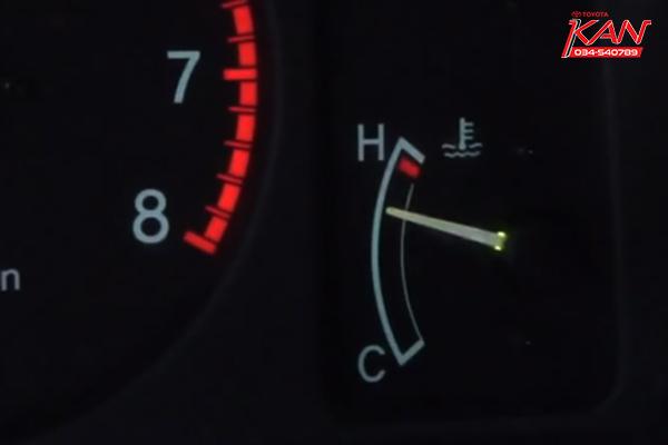 ความร้อนรถยนต์ขึ้น