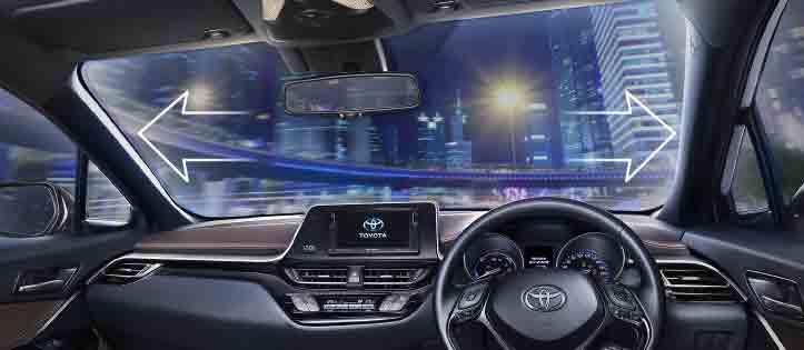 EXCELLENT-VISIBILITY เปิดจอง Toyota C-HR 2018 แล้ววันนี้ !!