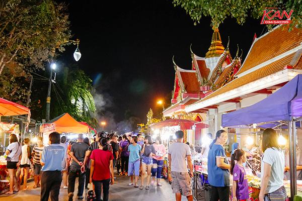 ถนนคนเดิน กาญจนบุรี