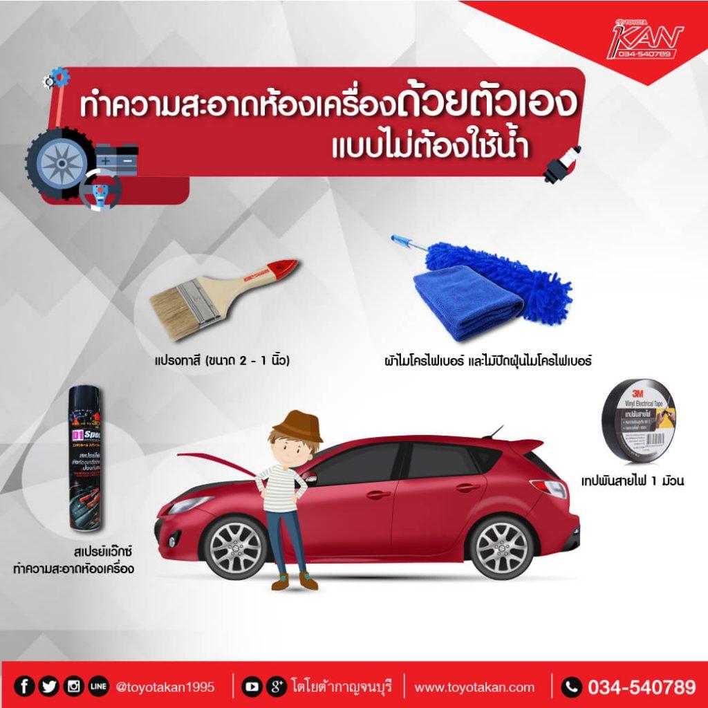 ล้างรถไม่ใช้น้ำ