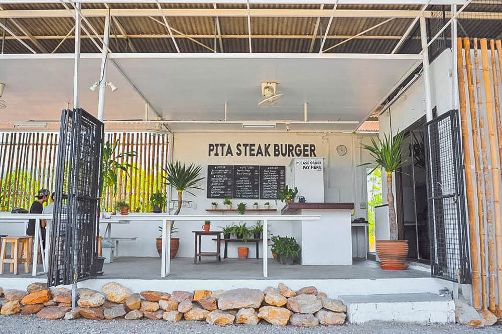 pita steak burger