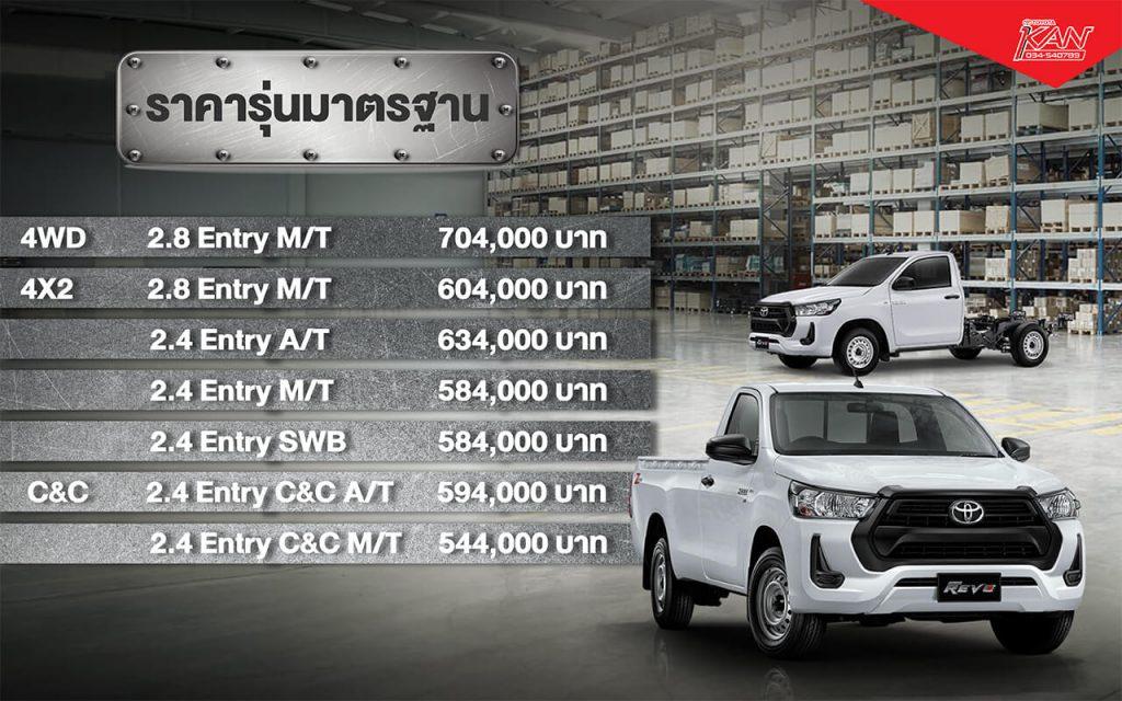 -std-1024x640 รีวิว Toyota Hilux Revo Standard Cab
