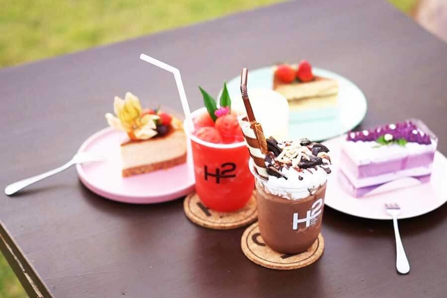 dessert-H2-rivercafe ดื่มด่ำกับธรรมชาติ สูดอากาศสดชื่น ที่ H2 rivercafe