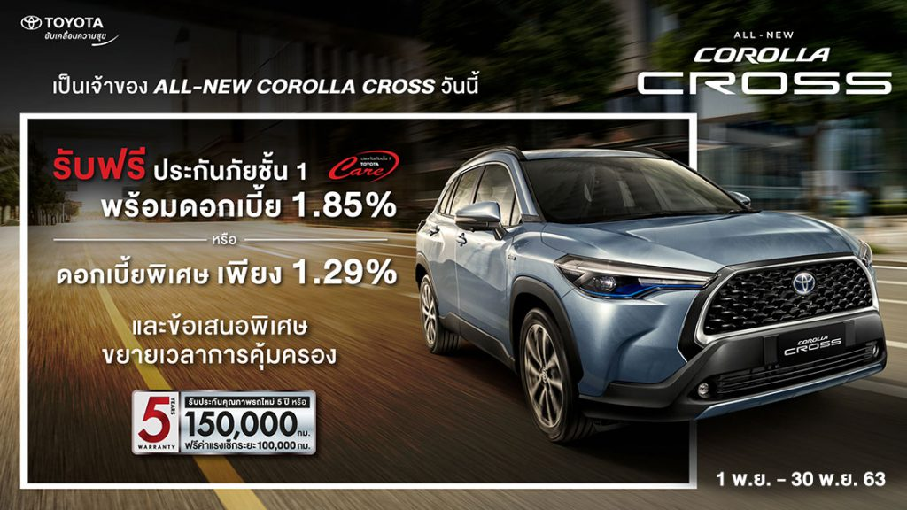 20201101004622-1024x576 เป็นเจ้าของ Corolla Cross วันนี้
