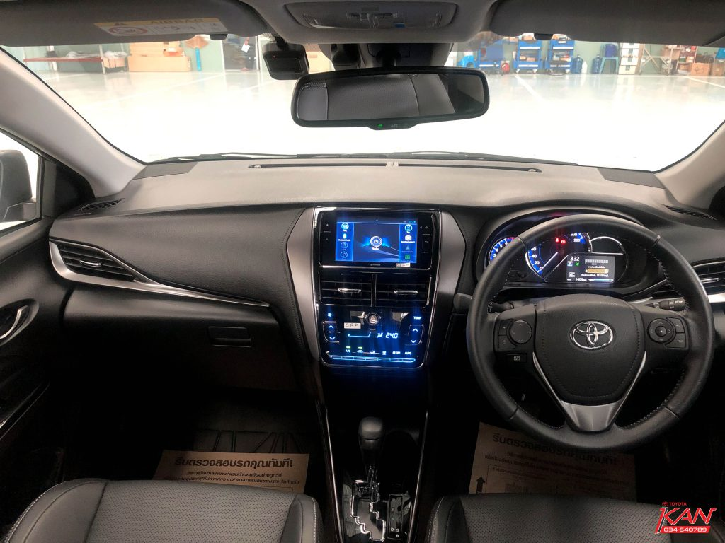 in-car-yaris-ativ-2020-1-1024x768 Review Yaris Ativ 2020 โดดเด่นทุกมุมมอง